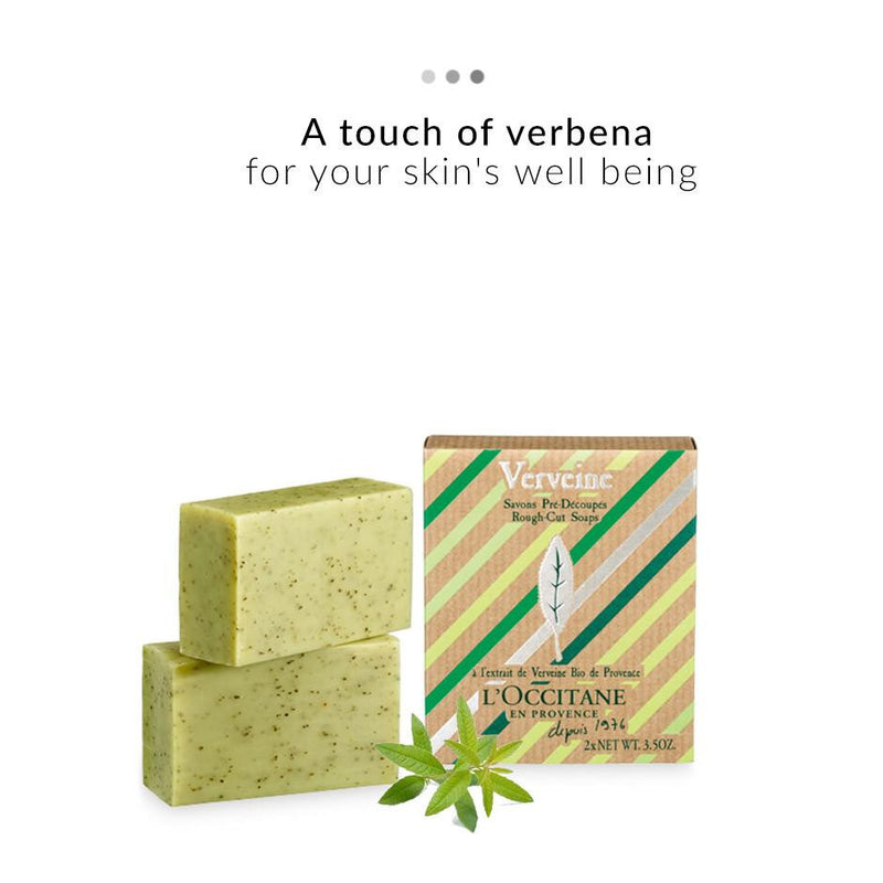 Bath & Body - Verbena Rough-Cut Soaps