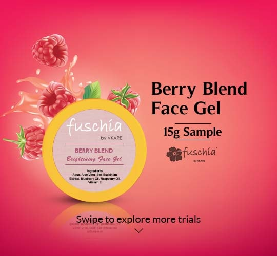 Berry Blend Brightening Face Gel