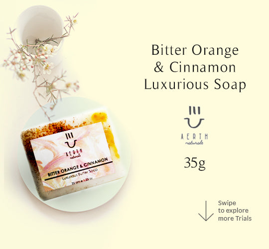 Bitter Orange and Cinnamon Luxurious Soap