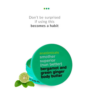 Bergamot and Green Ginger Body Butter on Smytten | Body Butter | Anatomicals