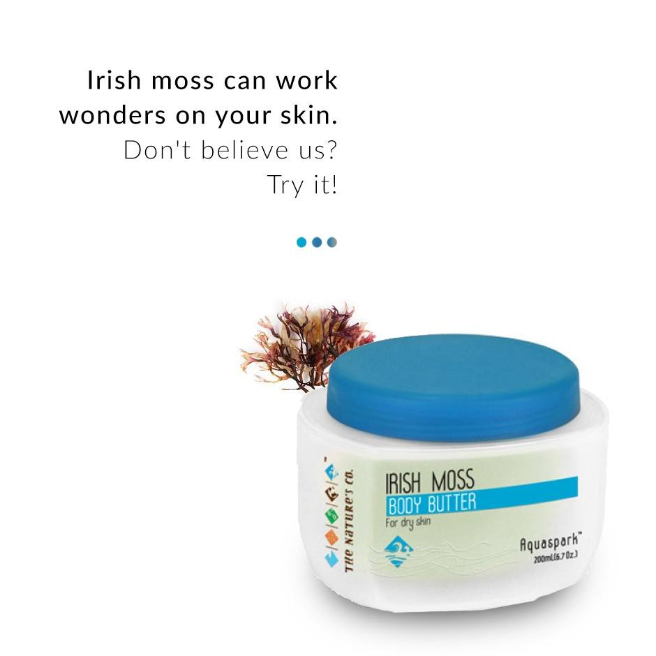 Irish Moss Body Butter on Smytten | Body Butter | The Nature's Co