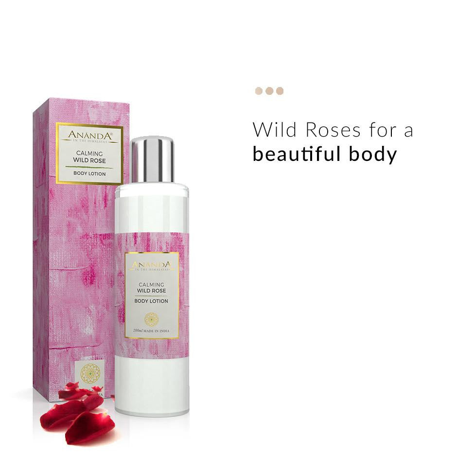Body Lotion - Calming Body Lotion - Wild Rose