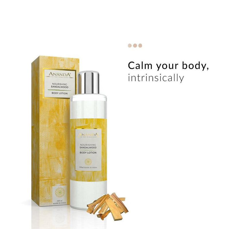 Body Lotion - Nourishing Body Lotion - Sandalwood