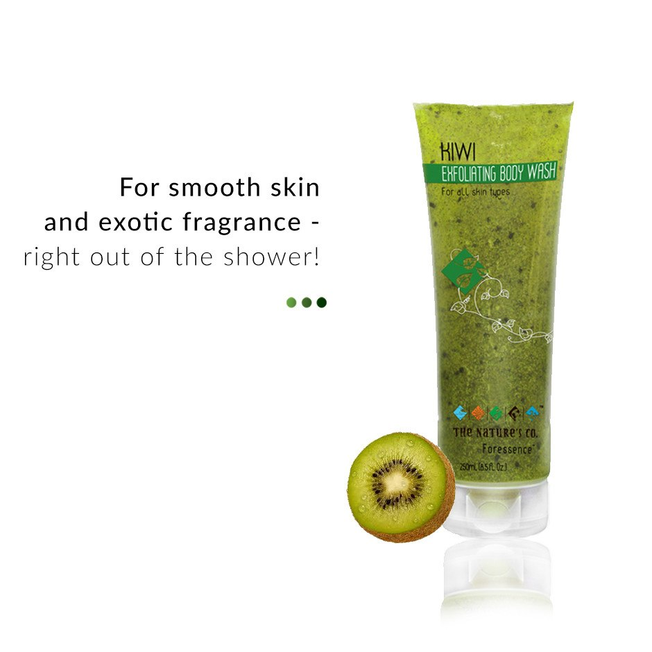 Kiwi Exfoliating Body Wash from  The Nature's Co | Smytten