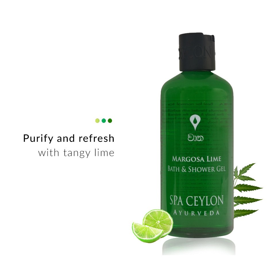 Margosa Lime- Bath & Shower Gel on Smytten | Body Wash | Spa Ceylon