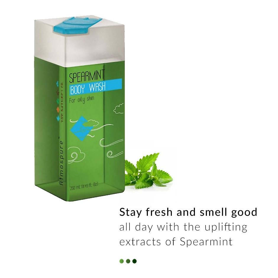 Spearmint Body Wash from  The Nature's Co | Smytten