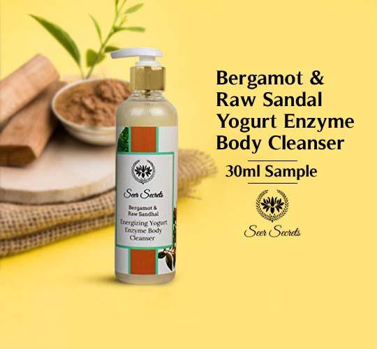 Bergamot & Raw Sandal Energizing Yogurt Enzyme Body Cleanser