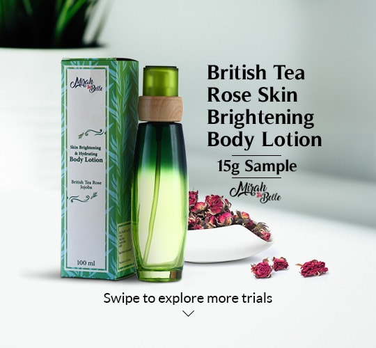 British Tea Rose Skin Brightening Body Lotion 15g