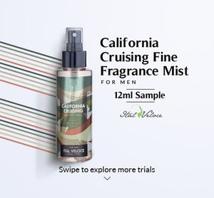 California Cruising Fine Fragrance Mist For Men- 12ml