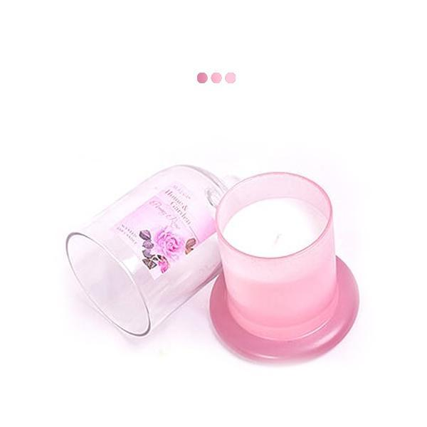 Candles - Peony Rose Cloche Jar Scented