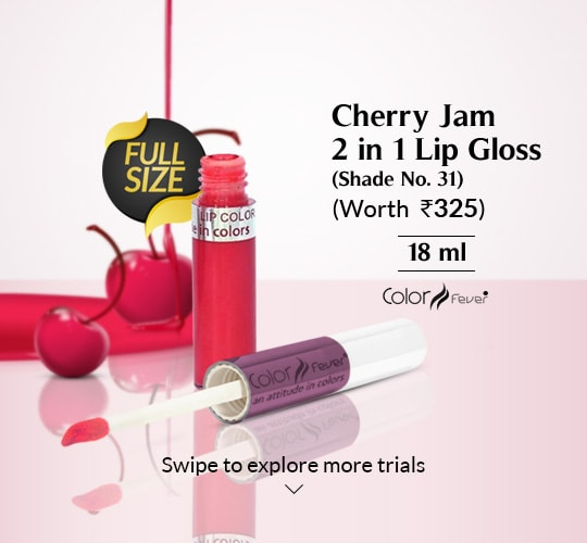 Color Fever 2 In 1 Lipgloss Shade No 31 Cherry Jam