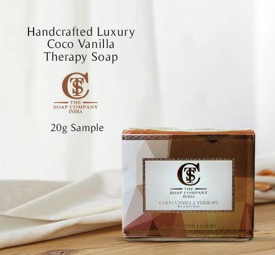 Handcrafted Luxury Coco Vanilla Therapy Soap