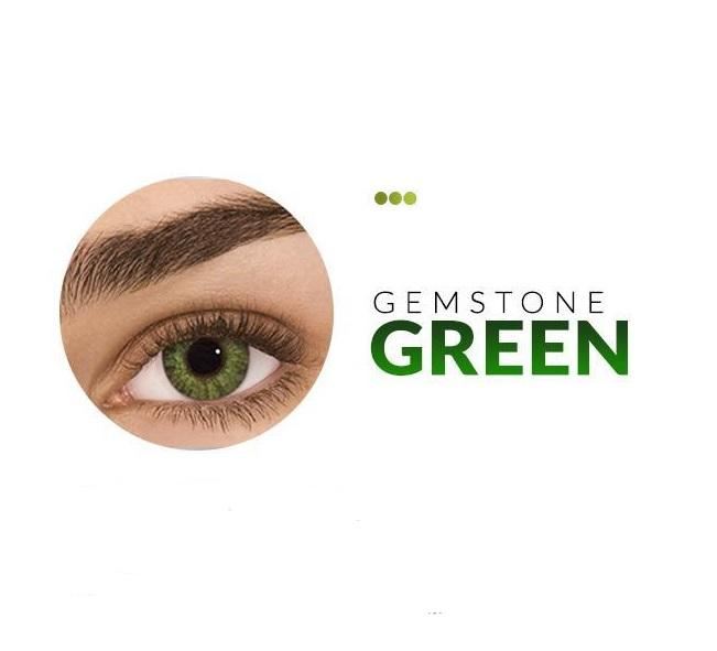 Colour Contact Lenses - Gemstone Green