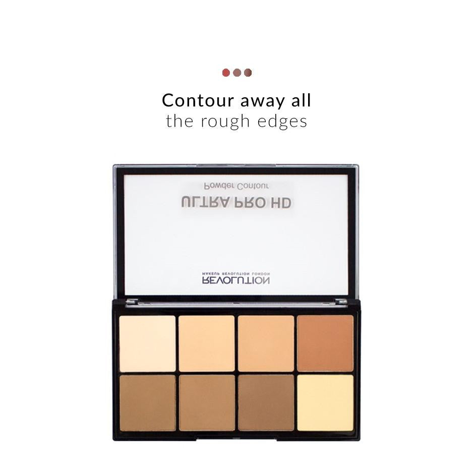 Combo - HD Pro Ultra Powder Contour Palette