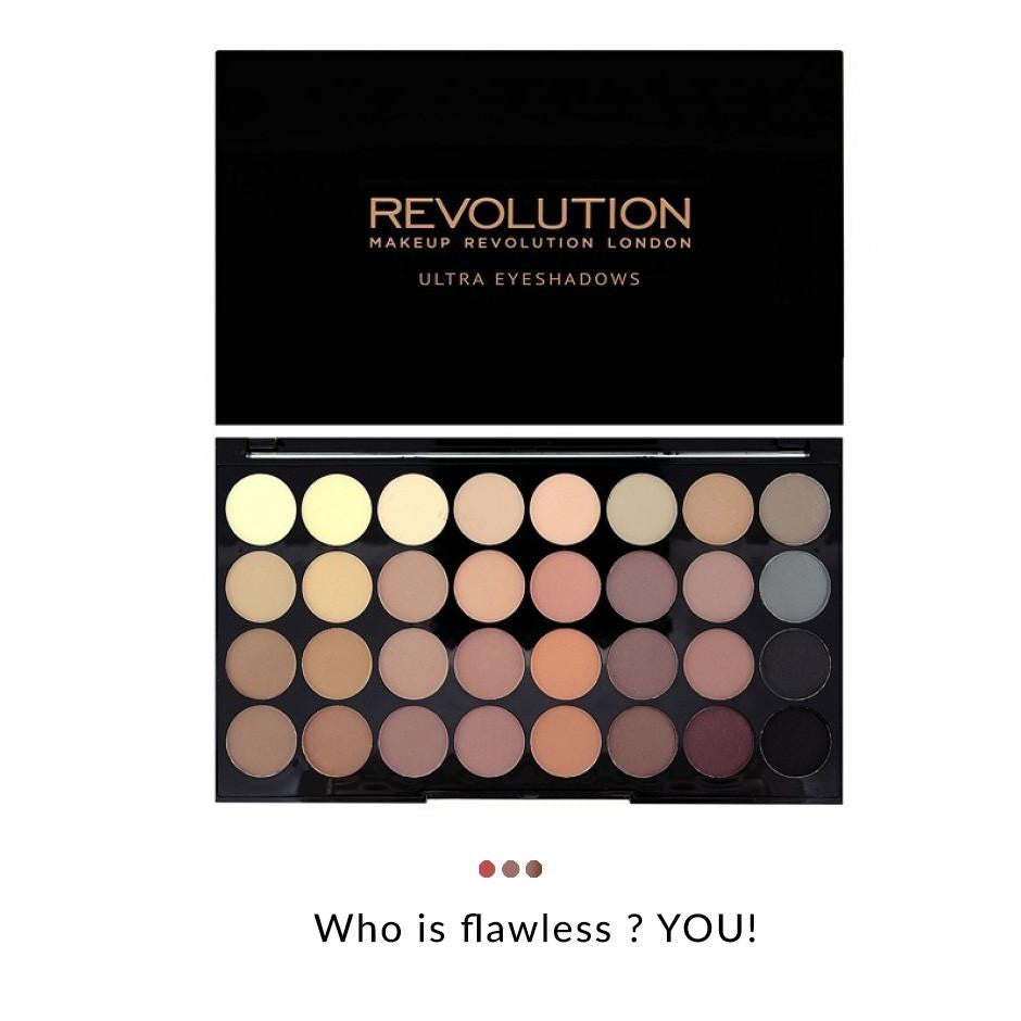 Combo - London Ultra Eyeshadow Flawless Matte Palette