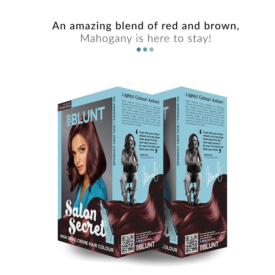 Combo - Mahogany Hair Colour Combo