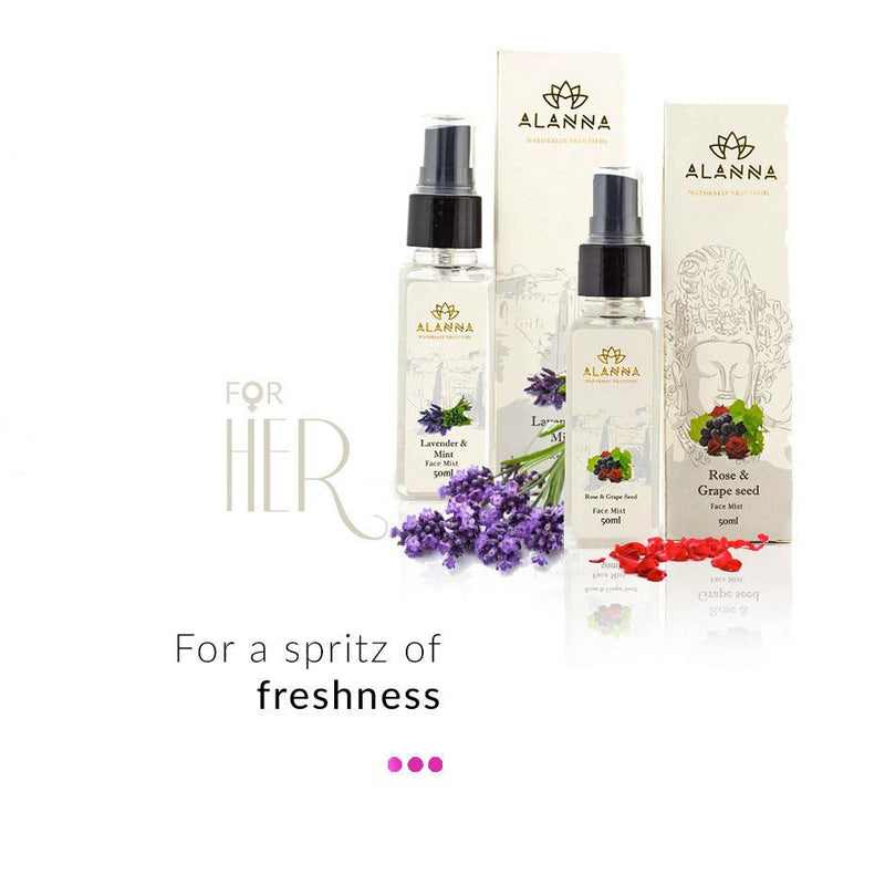 Combo - Natural Face Mist Combo