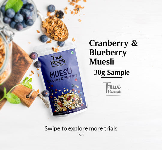 Cranberry And Blueberry Museli 30g