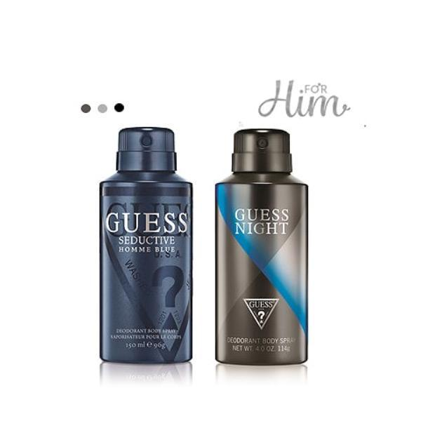 Deodorants And Body Mists - Guess Pk2 Men Deos