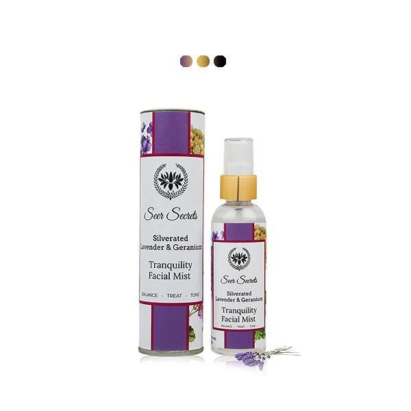 Deodorants And Body Mists - Silverated Lavender & Geranium Tranquility Facial Mist