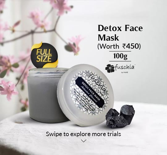 Detox Face Mask Activated Charcoal 100g