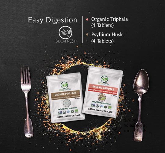 Easy Digestion (Psyllium husk tablet + Triphala Tablet)