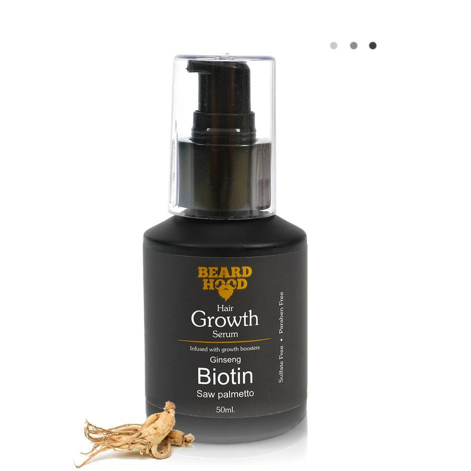 Essentials For Gentlemen - Beard And Hair Growth Serum