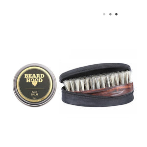 Essentials For Gentlemen - Beard Balm & Beard Brush