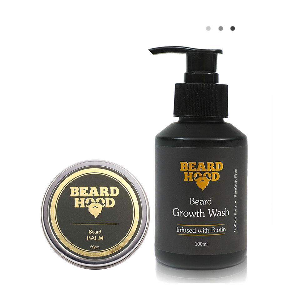 Essentials For Gentlemen - Beard Balm & Beard Growth Wash