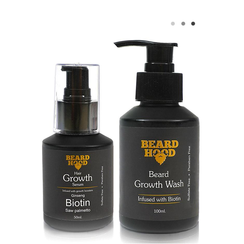 Essentials For Gentlemen - Beard Growth Pack