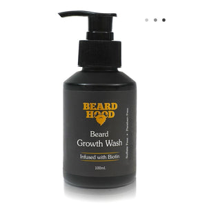 Essentials For Gentlemen - Beard Growth Wash With Biotin And Aprikot Kernel Oil