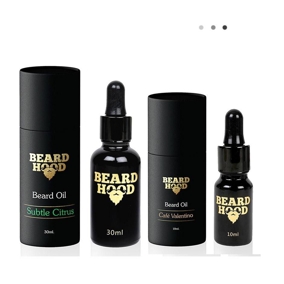 Essentials For Gentlemen - Subtle Citrus & Cafe Valentino Beard Oil Combo