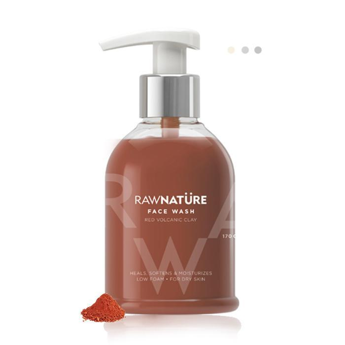 Essentials For Gentlemen - Volcanic Red Clay - Face Wash