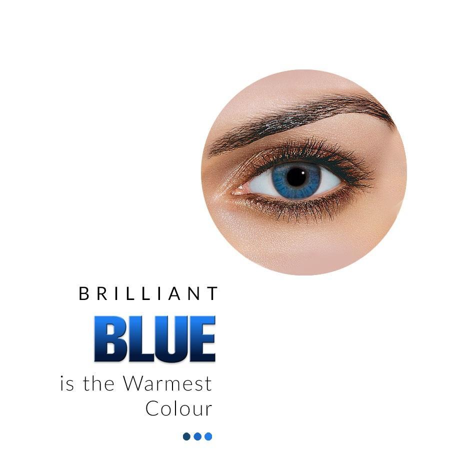 Eye Lens - Brilliant Blue