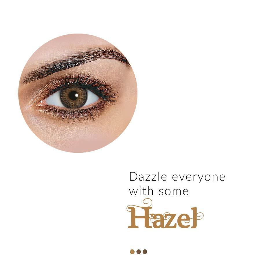 Eye Lenses - Pure Hazel