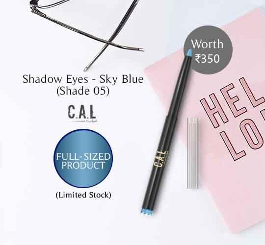 Eye Shadow - CAL Shadow Eyez 05 Sky Blue