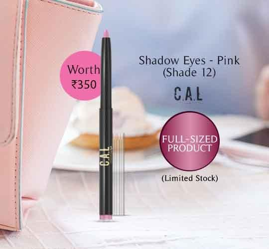 Eye Shadow - CAL Shadow Eyez 12 Pink