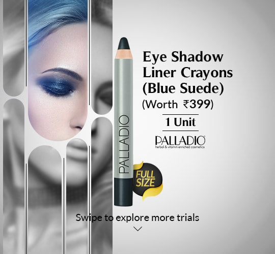 Eye Shadow Liner Crayons Blue Suede