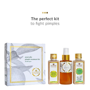 Face Care - Ayurvedic Pimple Treatment Kit
