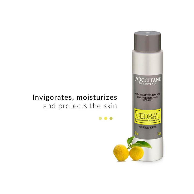 Face Care - Cedrat Energizing Face Splash