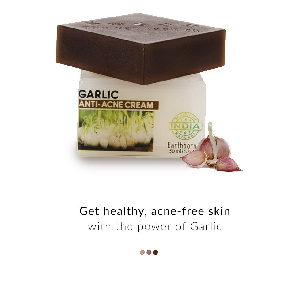 Garlic Anti-Acne Cream on Smytten | Face Care | The Nature's Co