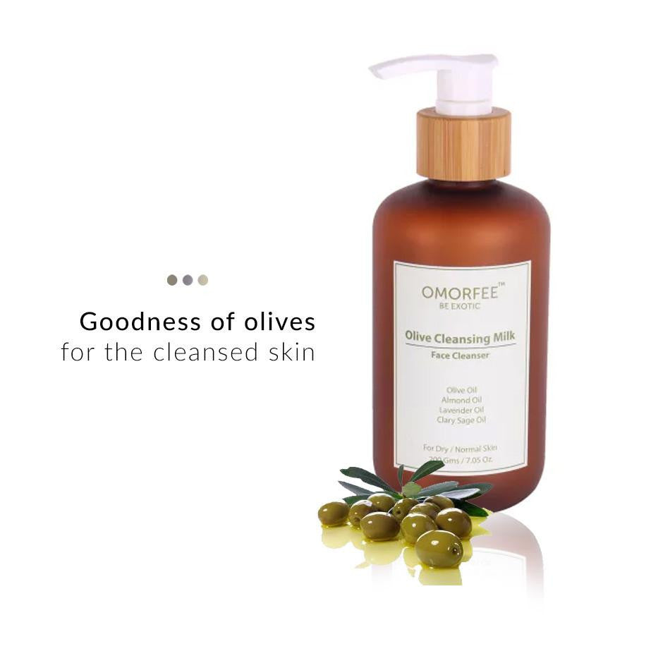 Face Care - Olive Cleansing Milk