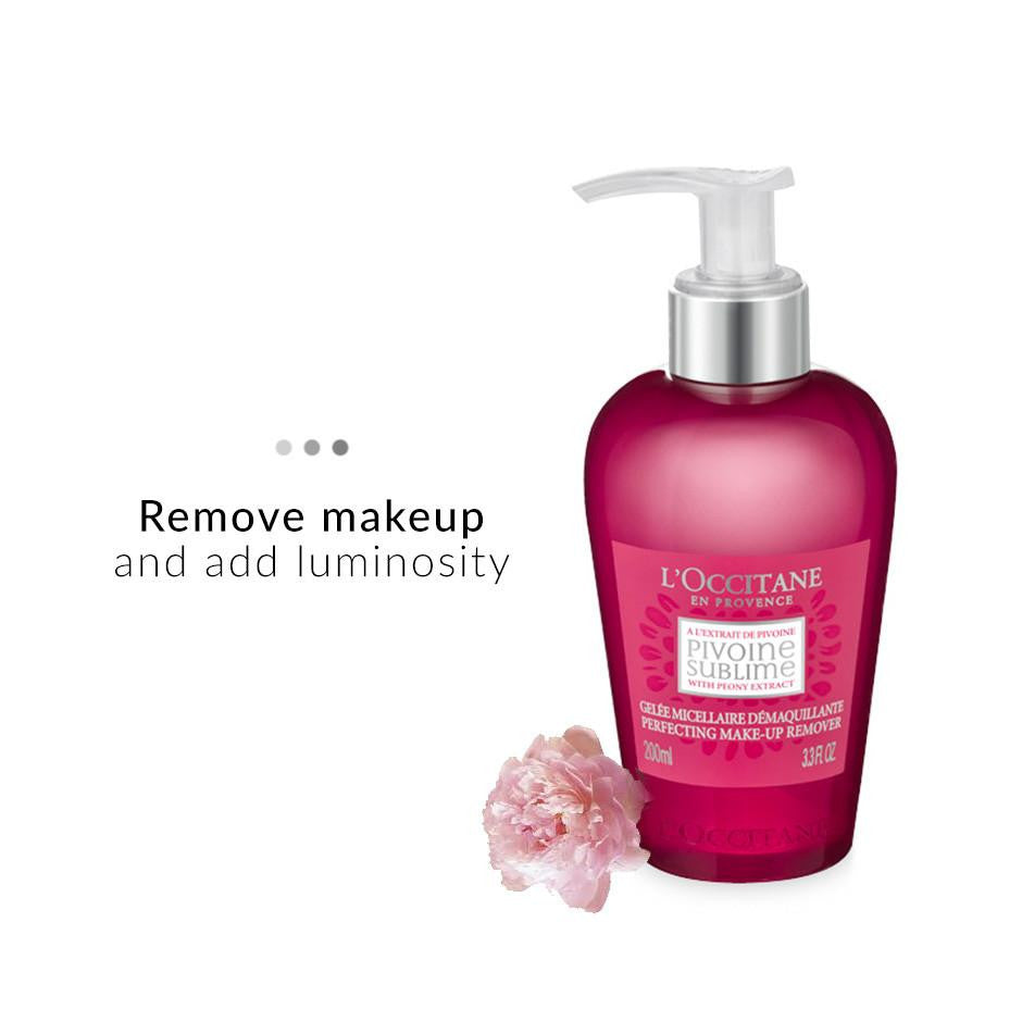 Face Care - Peony Perfecting Make Up Remover