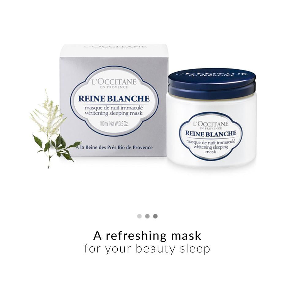 Face Care - Reine Blanche Whitening Sleeping Mask
