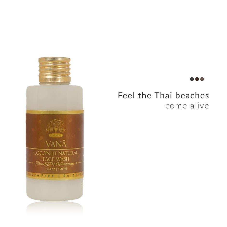 Face Care - Thai Spa Coconut Natural Face Wash