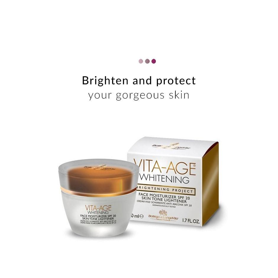Face Care - Vita Age Whitening Face Moisturizer SPF 20