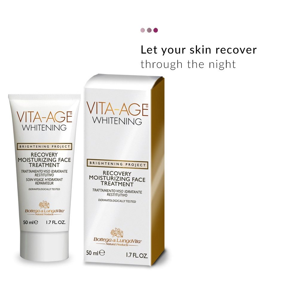 Face Care - Vita Age Whitening Recovery Face Treatment