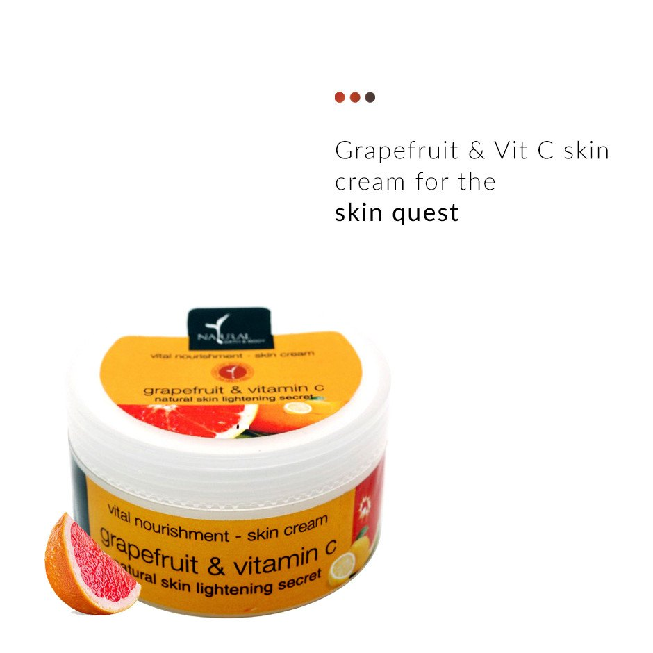 Face Cream - Grapefruit Vitamin C Vital Nourishment - Skin Cream
