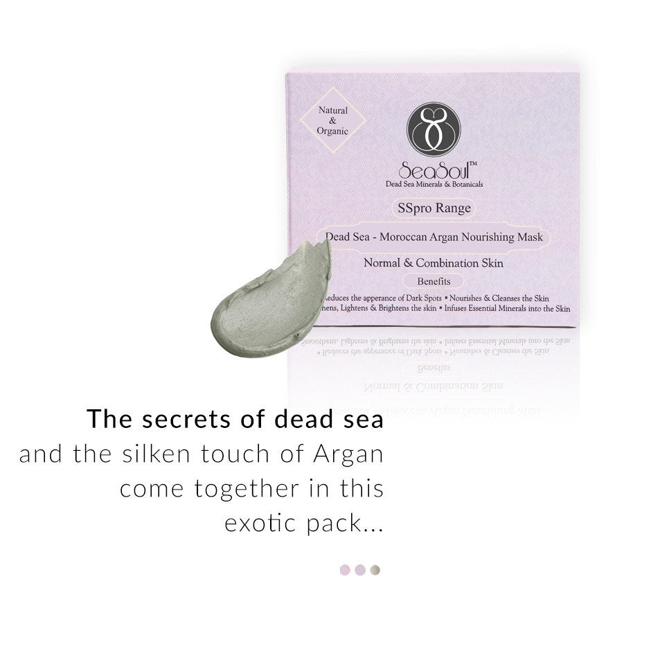 Dead Sea-Argan Nourishing Mask-Normal Skin on Smytten | Face Mask | SeaSoul