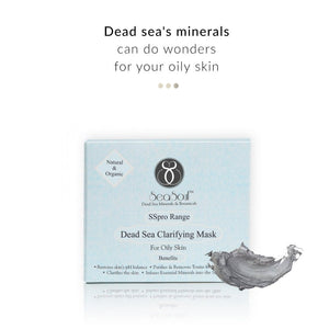 Dead Sea Clarifying Mask - for Oily Skin on Smytten | Face Mask | SeaSoul